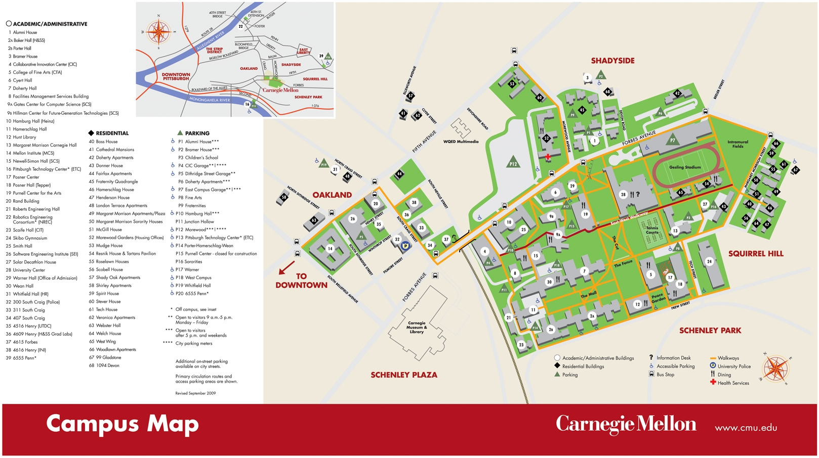 Campus Map Cmu | europeancytokinesociety